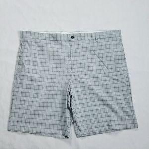 Greg Norman Plaid Golf Shorts